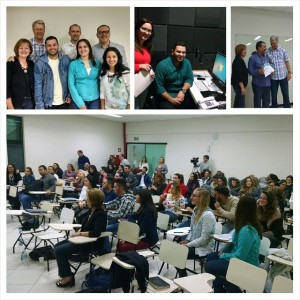 Deans Ken and Glenda Malmin travel to Brazil to conduct a live class with online students from 15 different cities. Students unable to travel were able to stream the live lessons.